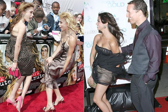 TheMonroe, Nip-slips, camel toes and dress disasters! The 10 types of red carpet wardrobe malfunctions