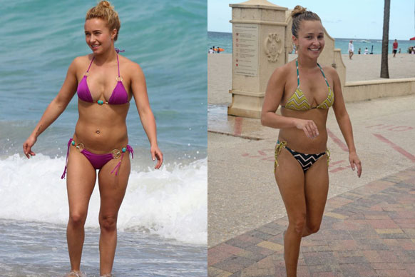 We have a look at our fave celeb babes in bathers...who do you think we voted as number one?