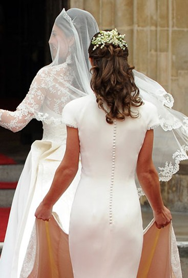 "Remember how perky Pippa Middleton's bum looked at the wedding of Kate and Prince Wills in 2011? Well it was lies, all lies, according to French royal expert, Stephane Burn, who it seems is also a derriere expert. Burn says Pippa was wearing a ""false bottom"". Yep, he reckons that world-famous butt was FAKE."
