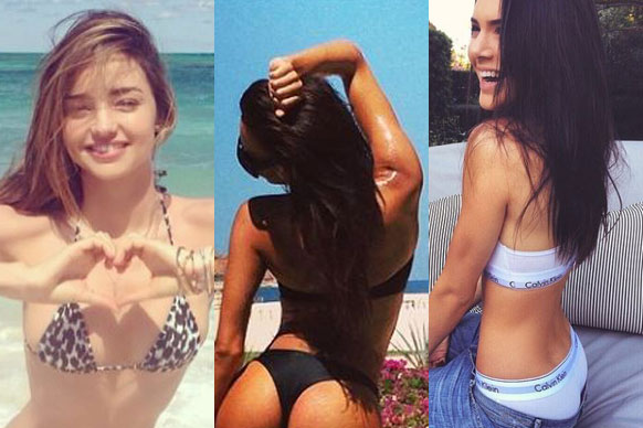 Naya's not the first star to try this tactic. Newly-single babes like Selena, Khloe and Miranda have all treated us to post-breakup bikini shots, topless raunch, cheeky belfies and hottest revenge selfies