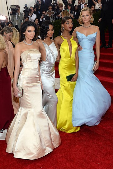 Kendall also proved that Topshop can do high-fashion, arriving at this year's Costume Institute Gala in a Topshop Unique dress, flanked by fellow beautiful people Toni Garrn, Jourdan Dunn and Chanel Iman. Tori Black teaches sex.